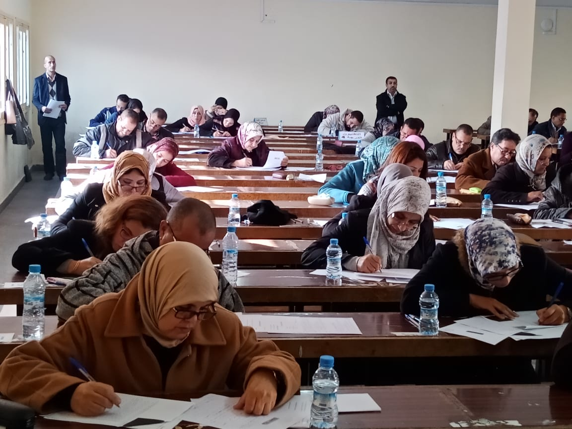 Résultats des examens écrits professionnels 2018