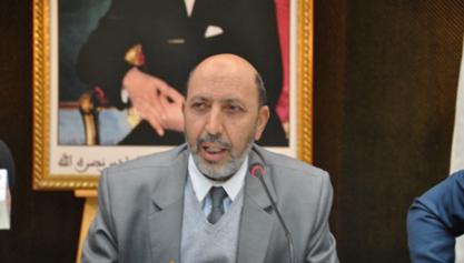 Mohamed Larbi Belcaid, Maire de Marrakech tient une conférence de presse pour présenter la nouvelle politique de développement adoptée par le conseil communal de la ville de Marrakech