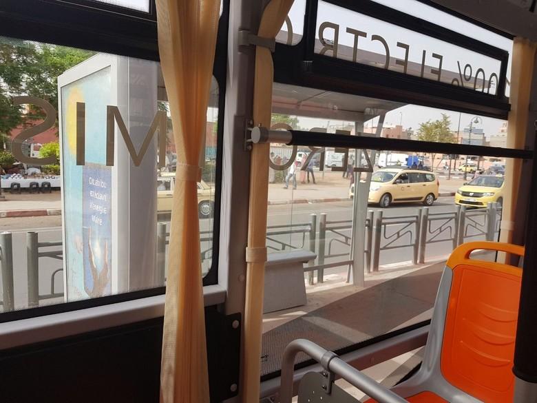 Lancement des Bus électriques