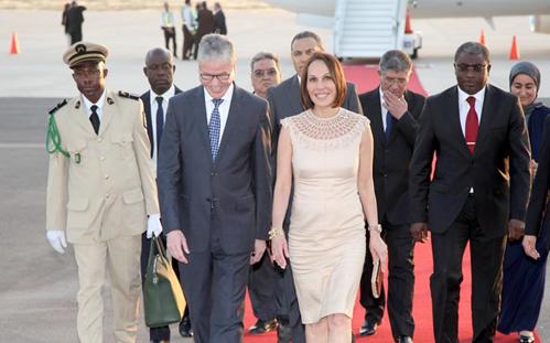 السيدة الأولى لجمهورية الغابون تحل بمراكش للمشاركة في الاجتماع الافتتاحي لـ