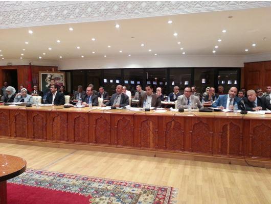 Session ordinaire du conseil communal de Marrakech Février 2016