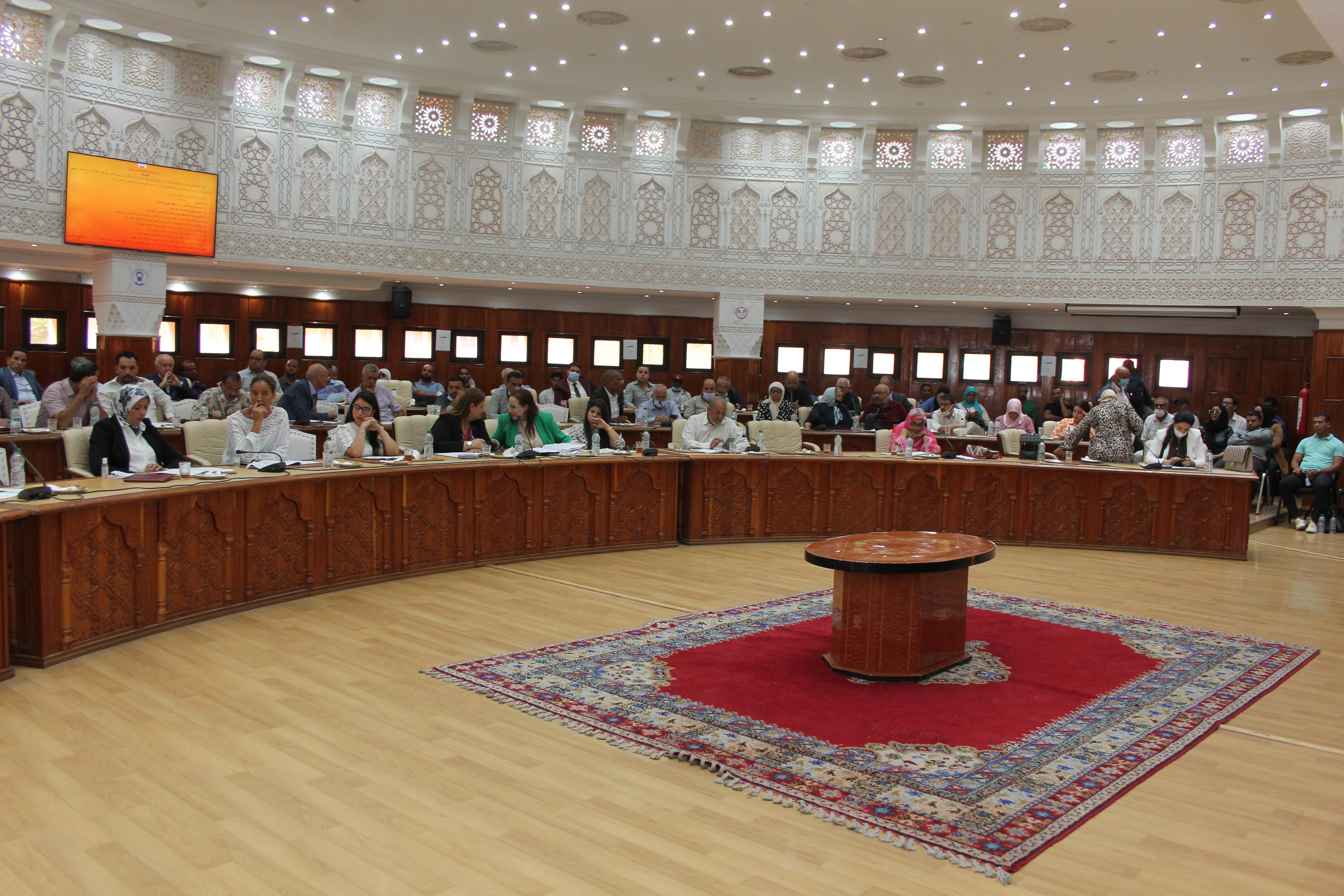 Membres du Conseil Communal de Marrakech