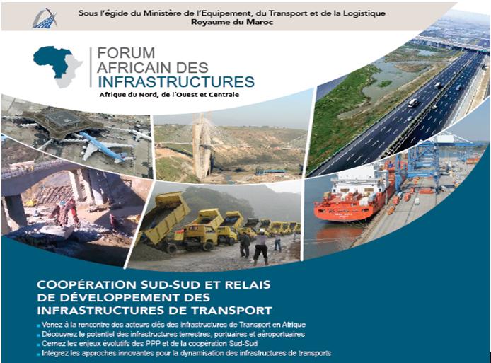 Marrakech accueille les travaux de  la 8ème édition du forum africain des infrastructures