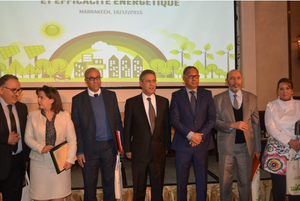 Mohamed Larbi Belcaid, Maire de Marrakech prend part à la rencontre nationale sur le développement urbain durable sous le thème   «Urbanisme durable et efficacité énergétique»