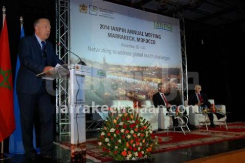 انعقاد اشغال الندوة التاسعة للجمعية الدولية للمعاهد الصحية بمراكش من 2 نونبر الى 4 منه 2014