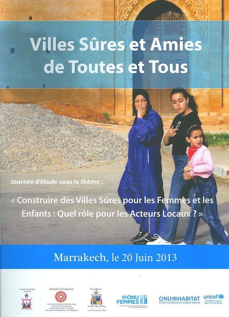 من اجل مدن أمنة لفائدة النساء والأطفال: أي دور للفاعلين المحليين ؟