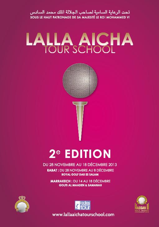2ème édition du trophée Lalla AICHA Tour School Marrakech du 14 au 18 Décembre