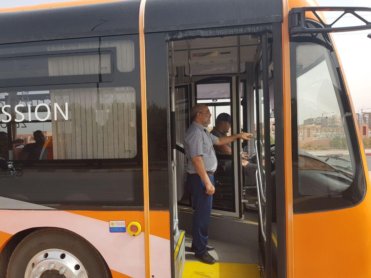 Bus électriques à Marrakech