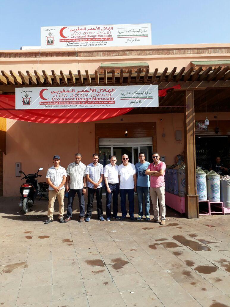Nouveau Centre de Soins à Al Mellah